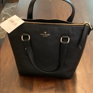 New with Tag Kate Spade Larchmont Ave Black Purse